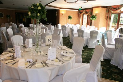 Purple Swan Chair Cover Hire Kendal